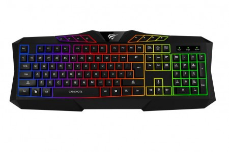 Клавиатура игровая Havit HV-KB453L black