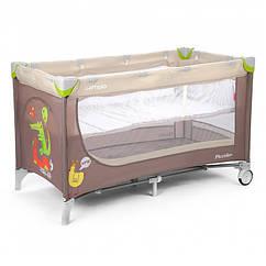 Манеж-кровать CARRELLO Piccolo+ CRL-9201 Beige