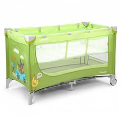 Манеж-кровать CARRELLO Piccolo+ CRL-9201 Green