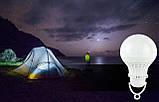 Лампа 12 Вольт 5 Вт с «крокодилами» для туризма, фото 5