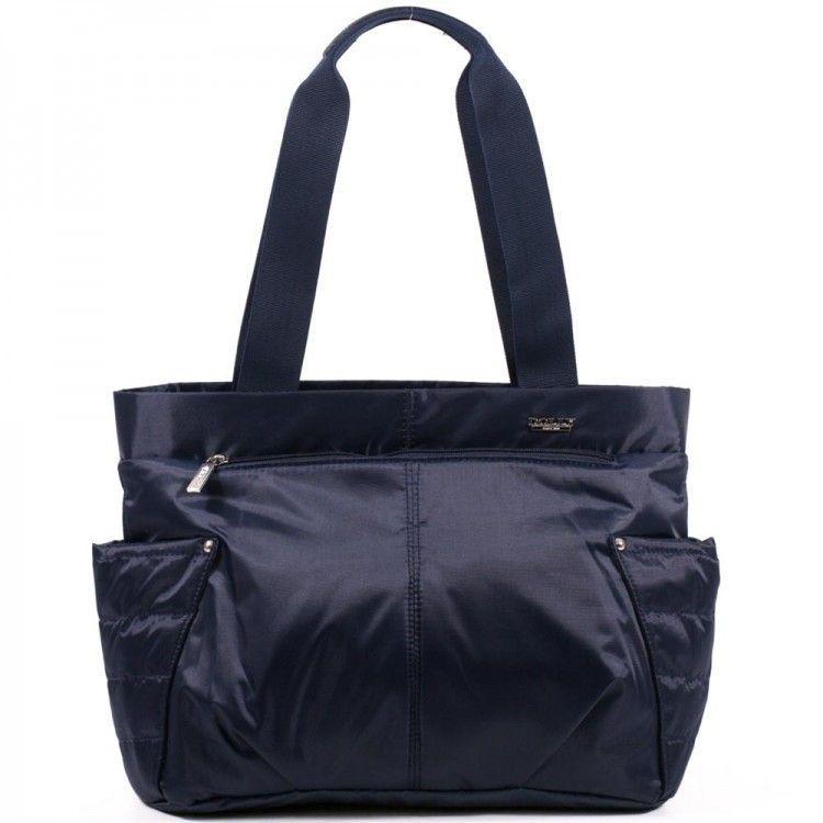 471e9dbf162e Молодёжные сумки-Синяя вместительная молодежная сумка Dolly арт. 471 ...