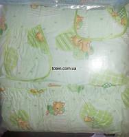 Защита для детской кроватки Мишки Спят