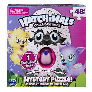 Пазл «Hatchimals» с эксклюзивной коллекционной фигуркой в яйце (48 частей) SM98470/6039460 Spin Master