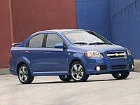 Накладки на пороги Chevrolet Aveo T250 (под покраску)