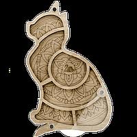 Органайзер для бисера с крышкой FLZB-036