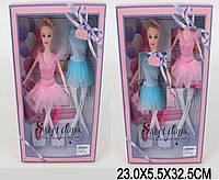 """Кукла """"Балерина"""" 503 2 вида, одежда, в кор.23*5,5*32,5см"""