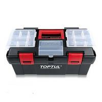 Ящик для инструмента 3 секции (пластик) TBAE0302 TOPTUL