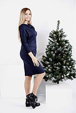 Сукня жіноча двійка трикотажне розміри: 42-74, фото 3