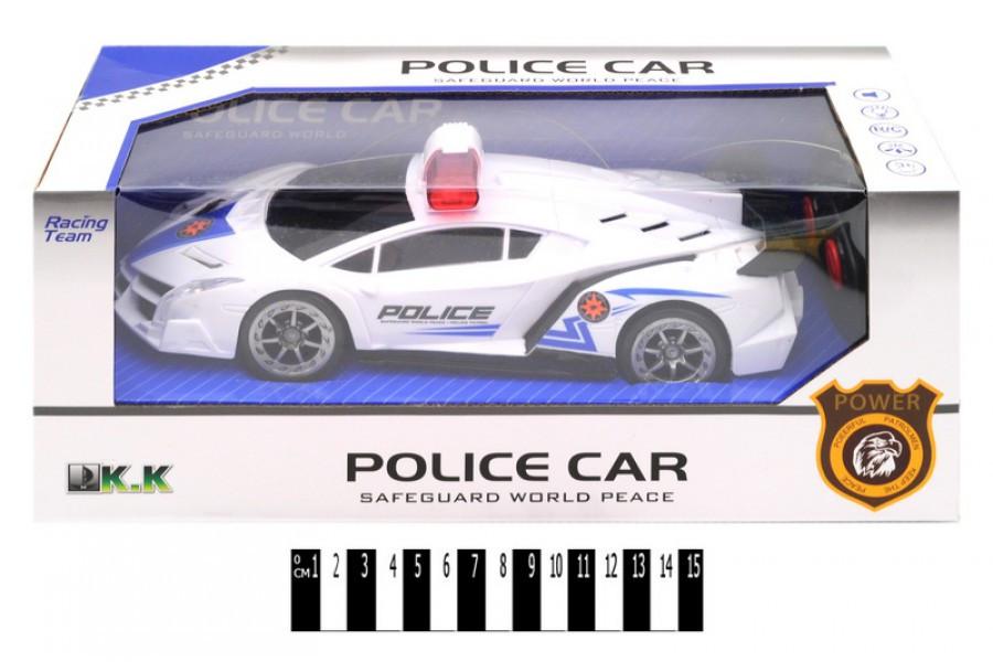 Машинка полиция 3699-А52 на радиоуправлении