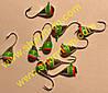 Блешня вольфрамова Bravo 1140-1-SIL 4,0 мм 0,99 гр. Крапля з вушком фарбована
