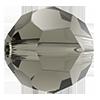 Круглые хрустальные бусины Preciosa (Чехия) 5 мм Black Diamond