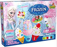 Набор для творчества DN825-FZ Мороженое, пластилин 6 цветов, формы, в коробке35*25,5*6см