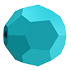 Круглые хрустальные бусины Preciosa (Чехия) 4 мм Turquoise