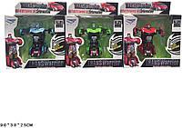 Трансформеры SY6678B-1 3 цвета, в кор. 9*3,8*2,5см