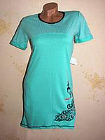 Женская ночная рубашка туника, хлопок 40-42, фото 1