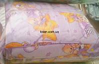 Защита для детской кроватки Фиолетовая