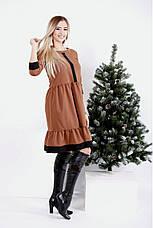 Платье женское повседневное большие размеры: 42-74, фото 3