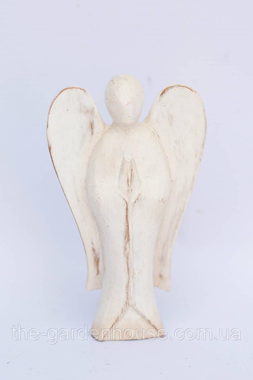 """Статуэтка """"Ангел"""" беленый, 15 см"""