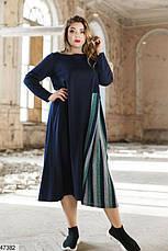 Женское платье демисезонное миди размеры:50-52,54-56, фото 3