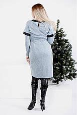 Платье женское повседневное размеры: 42-74, фото 2
