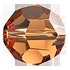 Круглые хрустальные бусины Preciosa (Чехия) 8 мм Crystal Celsian