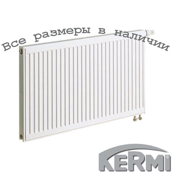Стальной радиатор KERMI FTV т11 900x1200 нижнее подключение