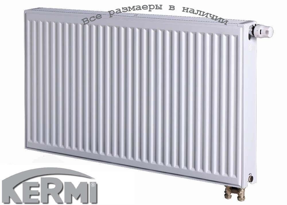 Стальной радиатор KERMI FTV т22 900x1300 нижнее подключение