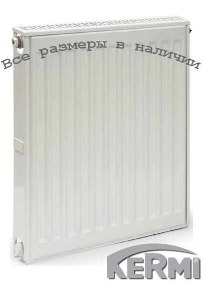 Стальной радиатор KERMI FKO т12 300x600 боковое подключение