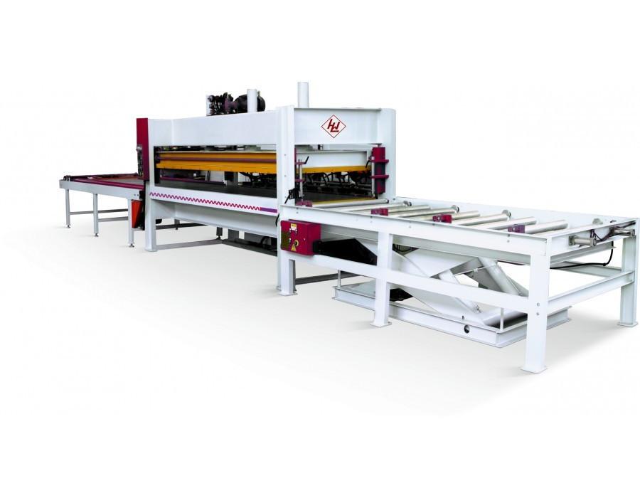 Пресс горячий для склеивания щита WINTER SOLID 3013-100 T – PLC Automatic
