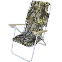 Кресло-шезлонг LyaHome «Пикник» камуфляж