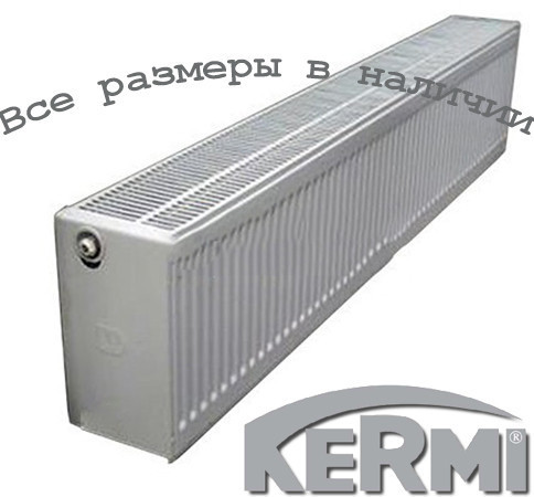 Стальной радиатор KERMI FKO т33 400x1800 боковое подключение