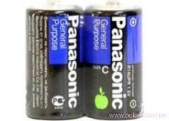Батарейка Panasonic R14 1x2 кор. (24/480) [126004], фото 2