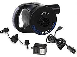 Насос электрический аккумуляторный Intex 66622 220v/12v