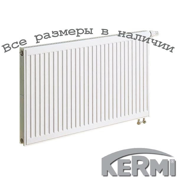 Сталевий радіатор KERMI FTV т11 300x1200 нижнє підключення