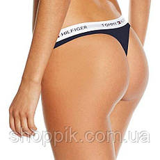 Женское белье Tommy Hilfiger стринги 3 шт. реплика, фото 2