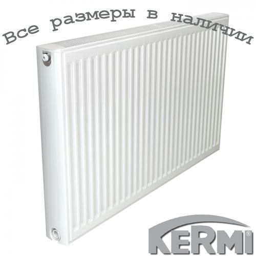 Стальной радиатор KERMI FKO т22 600x500 боковое подключение