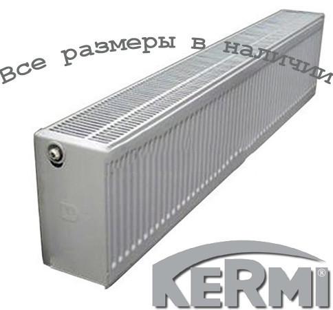 Стальной радиатор KERMI FKO т33 900x500 боковое подключение