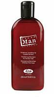 Шампунь уплотняющий для нормальных волос, Lisap Man Thickening shampoo, 250 мл