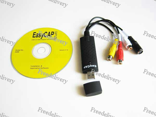 USB карта видеозахвата EasyCap