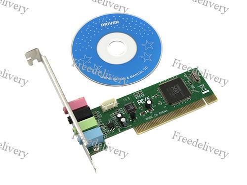 PCI 4 канальная звуковая карта