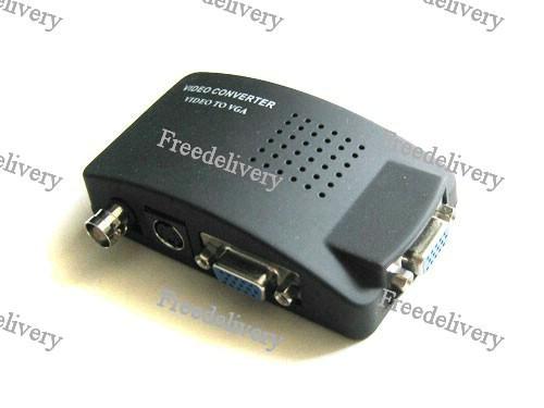 BNC, S-Video - VGA монитор, видео конвертер, фото 1