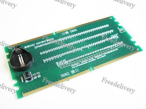 Тестер слота DDR2 DDR3 материнской платы, анализ, фото 1