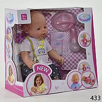 Пупс Warm baby 8009 интерактивный