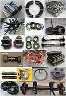 Запчасти на тракторный прицеп 2ПТС-4, 2ПТС-6, 1ПТС-9, ПРТ, МЖТ-10