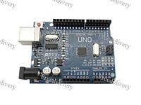Arduino Uno ATmega328P-PAU USB AVR ATMEGA8U2 плата