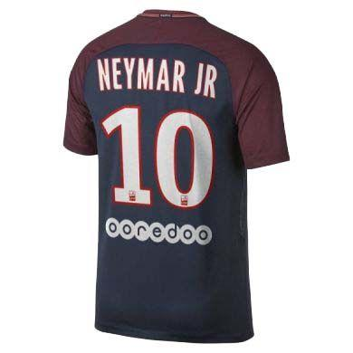 Футбольная Форма ПСЖ Домашняя Neymar Jr (2017-2018), Nike, Клуб ... 3e0b626c2ac