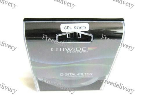 Поляризационный CPL фильтр 67мм CITIWIDE