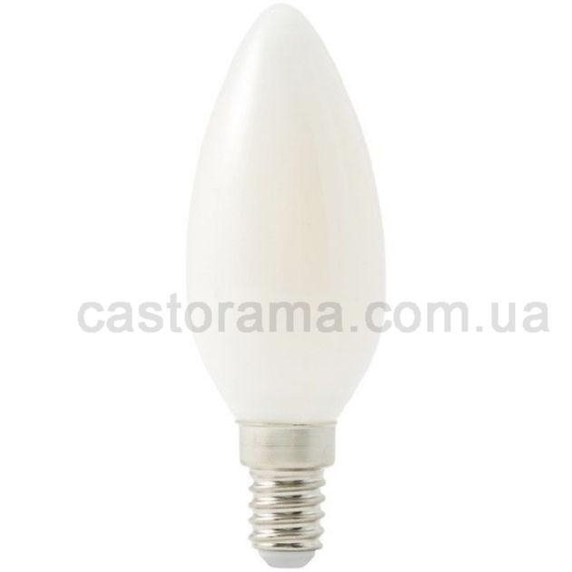 лампа Led Diall королей B35 E14 4 вт 470 лм молочный оттенок тепла продажа цена в луцке