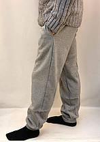 Штаны спортивные теплые мужские под манжет, фото 3