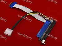 PCI-Express PCI-E 1X на 16X райзер, питание, molex
